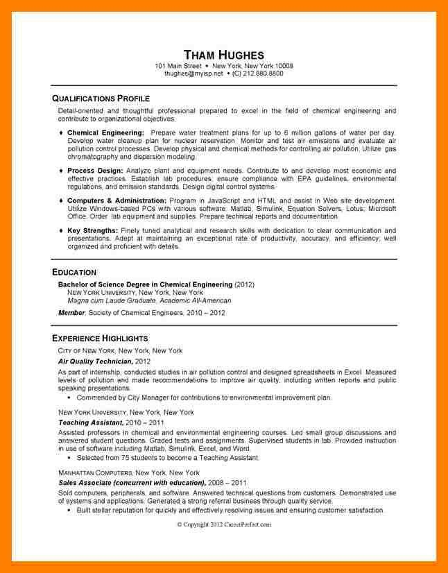 Resume Examples For Graduate Students. Student Resume Sample No ...