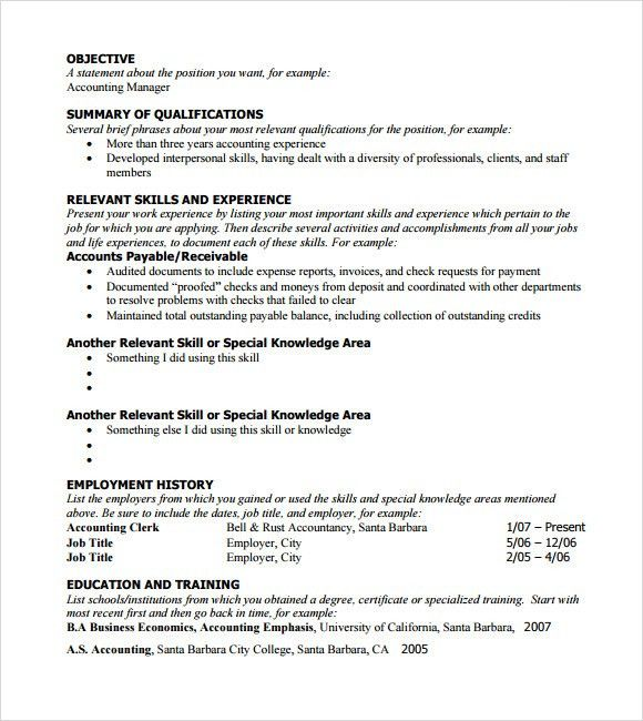 Functional Resumes. Functional Resume - Best Template Collection ...