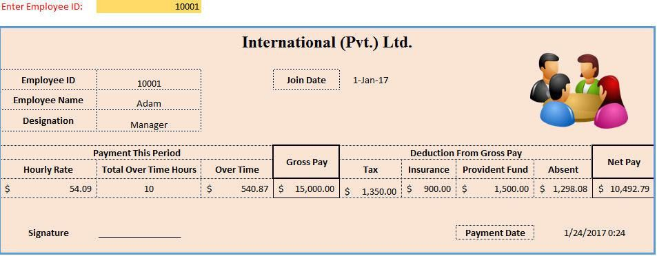 3+ Sample of Payslip Philippines Format – Template124