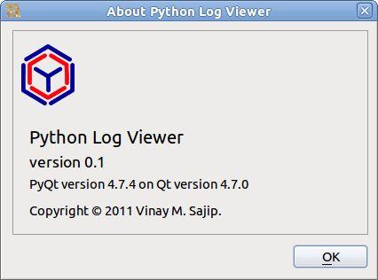 Python Log Viewer — Python Log Viewer v0.1 documentation