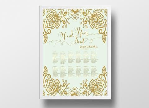 Thank you card DIY | Editable MS Word Template | Lace Mint and ...