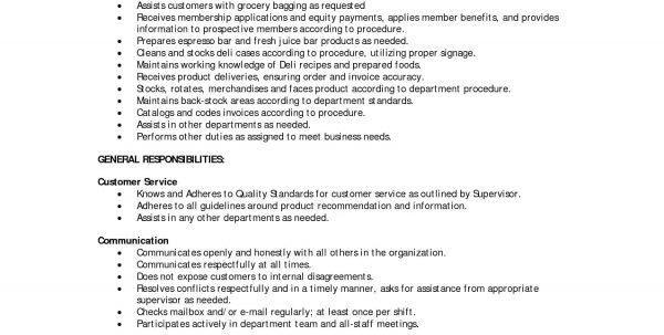 fast food job description for resume unforgettable fast food