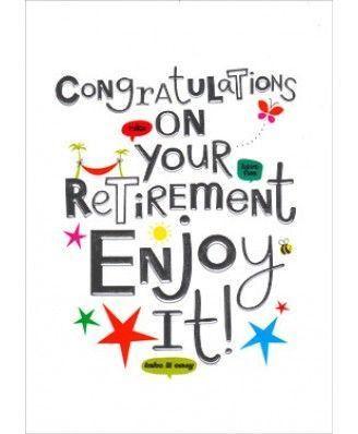 Retirement Congratulations - Retirement Card Messages