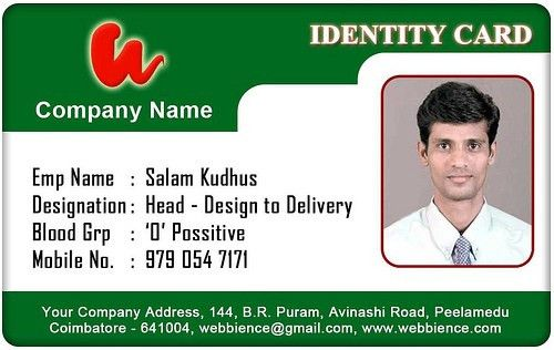 Id Card Template | peerpex