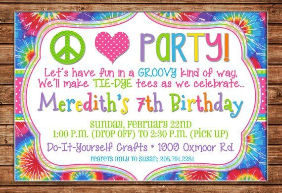 11Th Birthday Invitation Wording | alesi.info