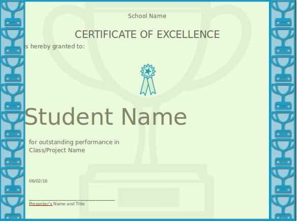 PowerPoint Certificate Template – 8+ Free PPT, PPTX Documents ...