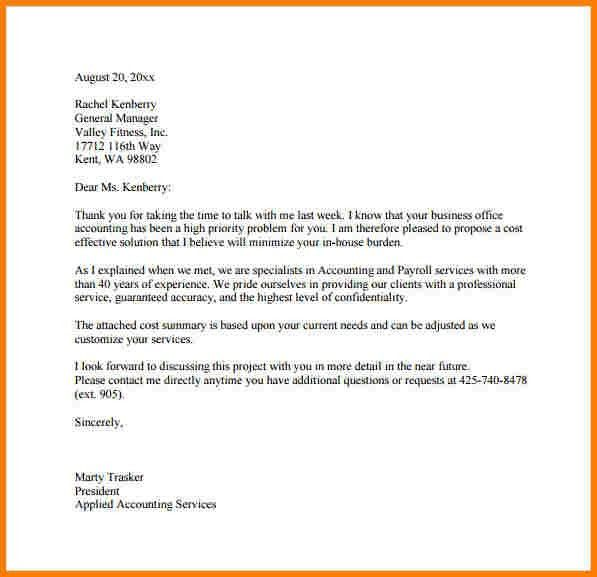 Business Proposal Letter Example. Sample Business Letter Of Intent ...