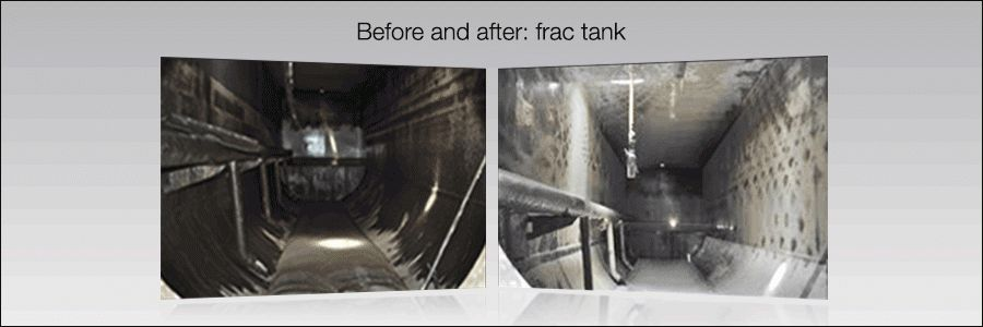 Tank Cleaning Experts in the Oilfields - Gamajet Cleaning Systems