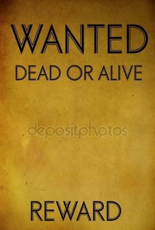 Wanted poster template Stock Photos, Royalty Free Wanted poster ...