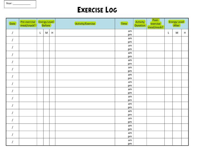 Daily Log In Sheet