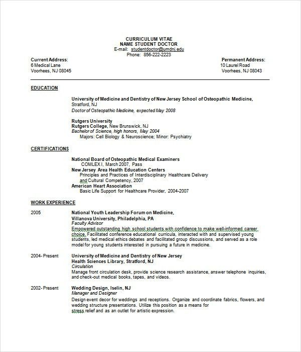Resume Templates - 27+ Word, PDF Documents Download