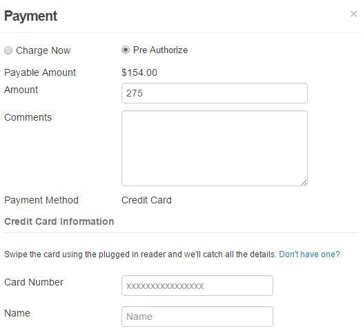 Credit Card Swipe - EZRentOut
