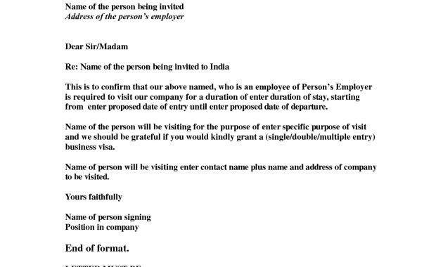 Visa Invitation Letter. What Is A Russian Visa Invitation Letter ...