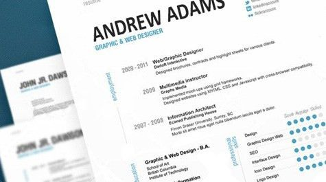 how to write resume for interview
