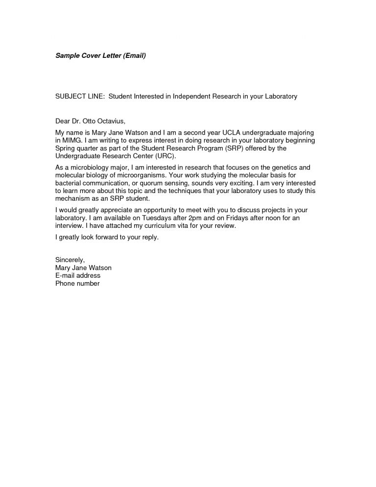 Download Email Cover Letter Example   haadyaooverbayresort.com