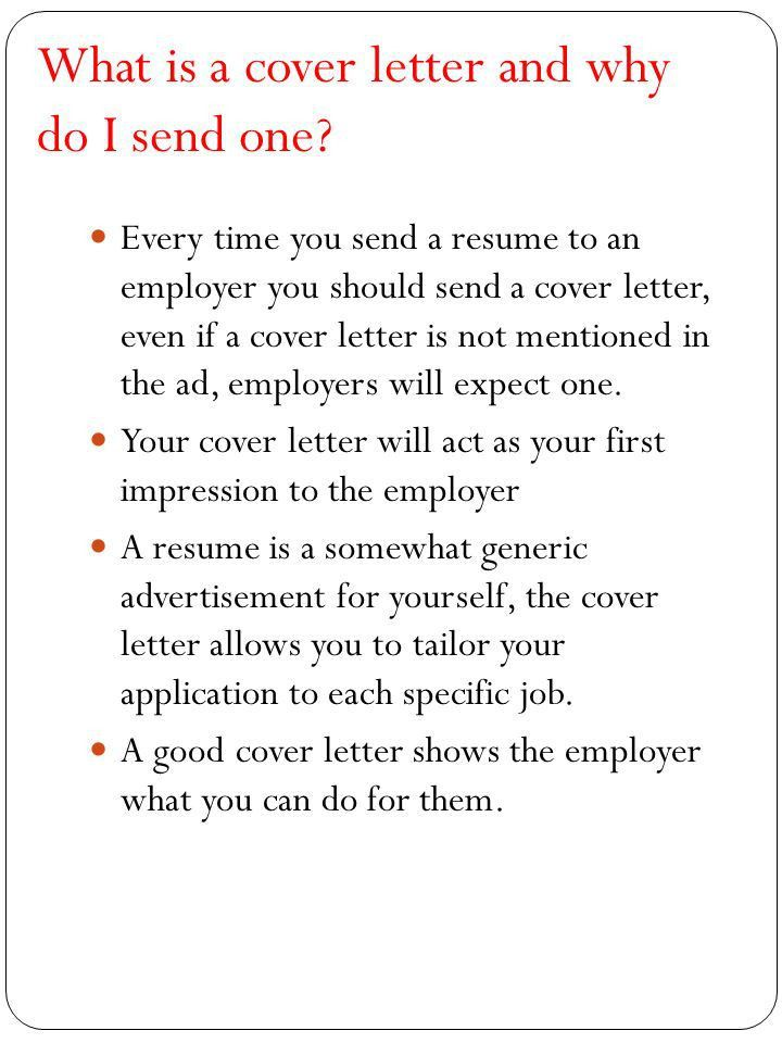 A Cover Letter Is An Advertisement - cv01.billybullock.us