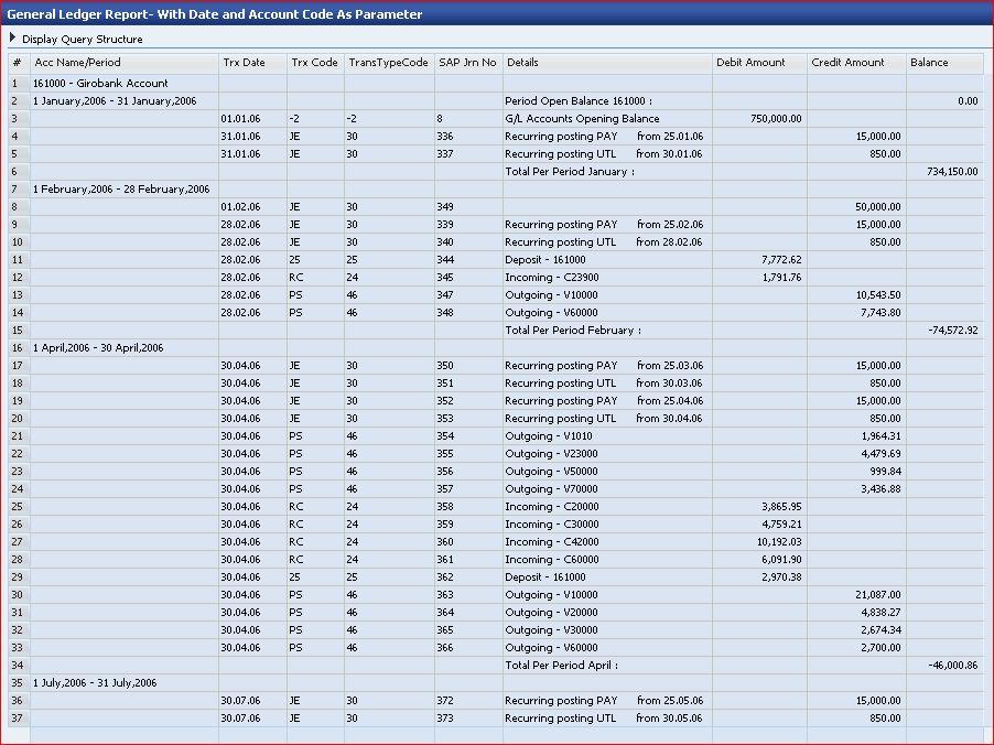 15 General Ledger Templates - Excel PDF Formats