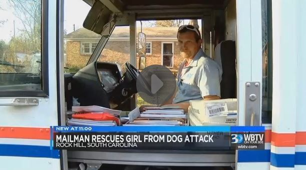Mail carrier in SC credited for saving little girl from dog attack ...