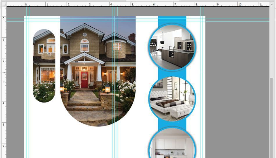 How to Create Real Estate Flyer Design in Photoshop? - Technig