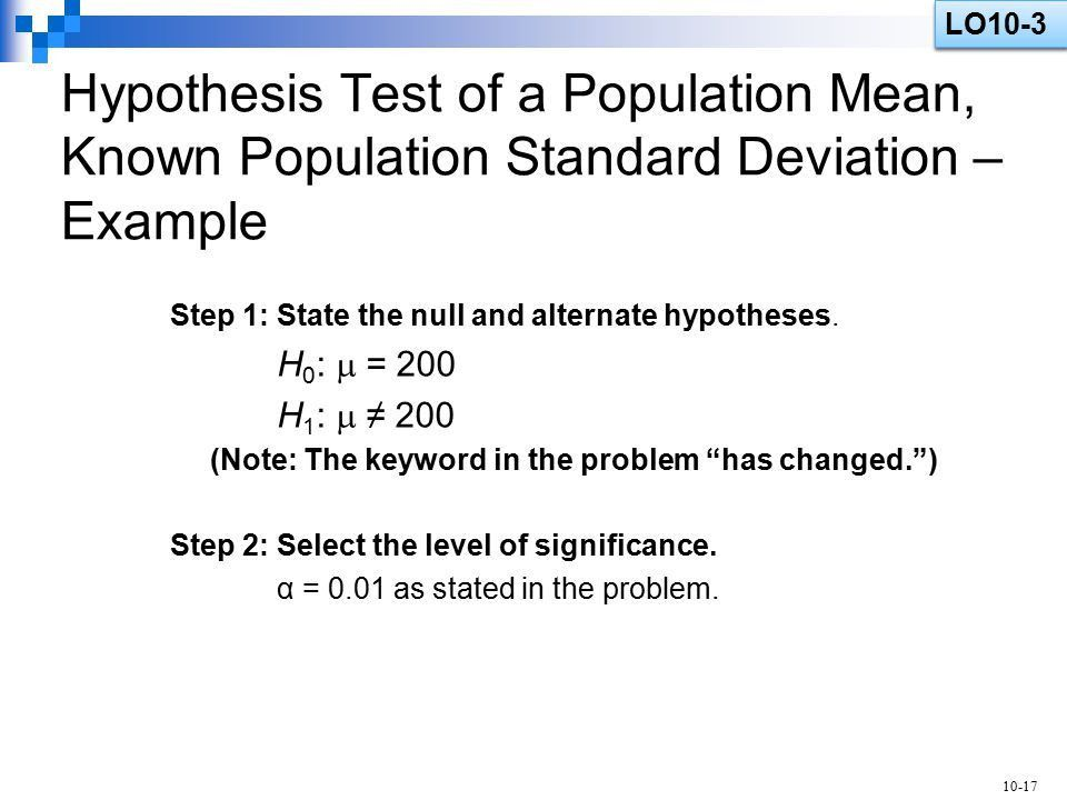 One-Sample Tests of Hypothesis - ppt video online download
