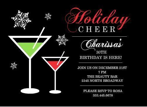 Holiday Party Invites – gangcraft.net