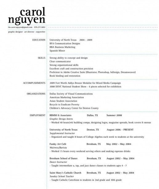 Resume - No Title