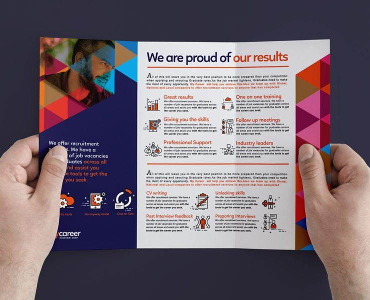 A5 Recruitment Agency Flyer Template - BrandPacks