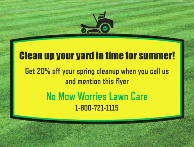 How to Advertise With Lawn Care Flyers | A Free How To Guide