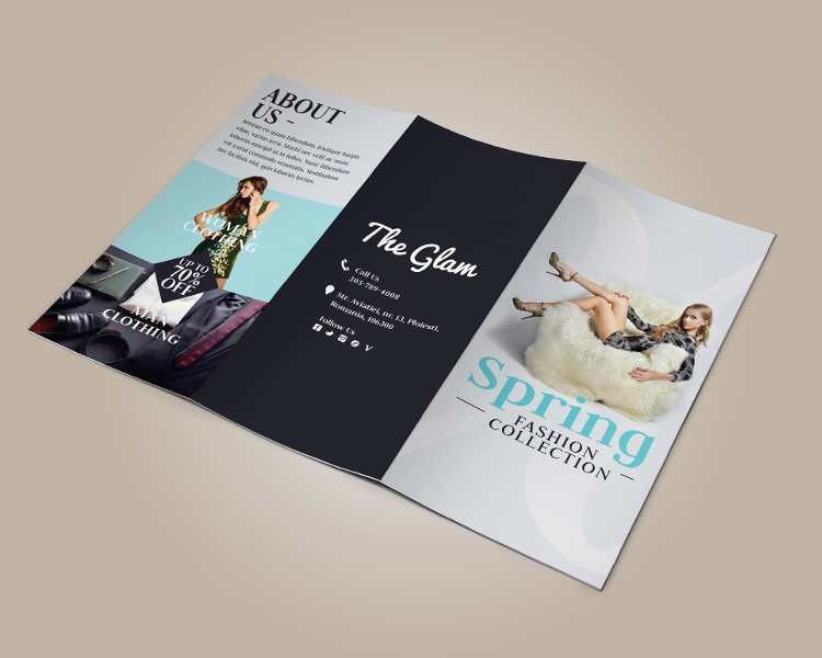Fashion Tri-Fold Brochure Templates || Free & Premium | Creative ...