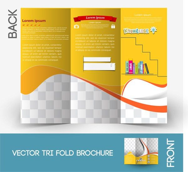 Brochure template Free vector in Adobe Illustrator ai ( .ai ...