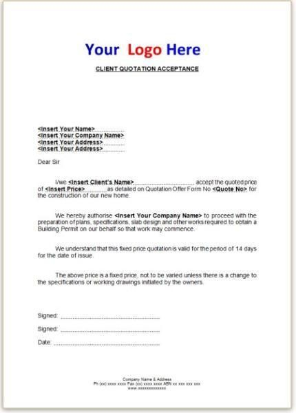 18+ Business Proposal Template Doc | Sample Carpentry Contract ...