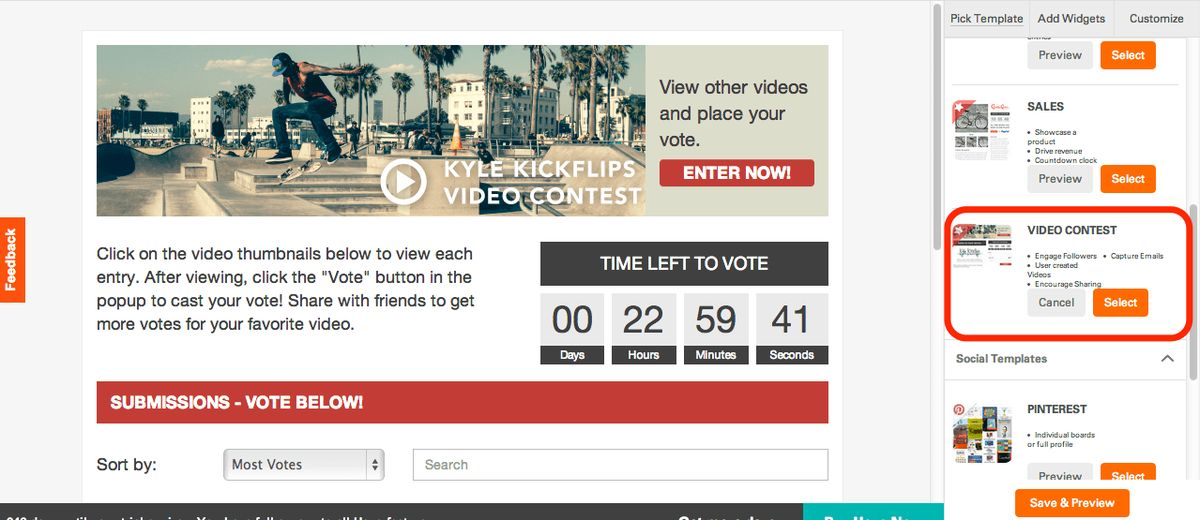 Introducing Heyo's Video Contest Template - The Heyo Blog