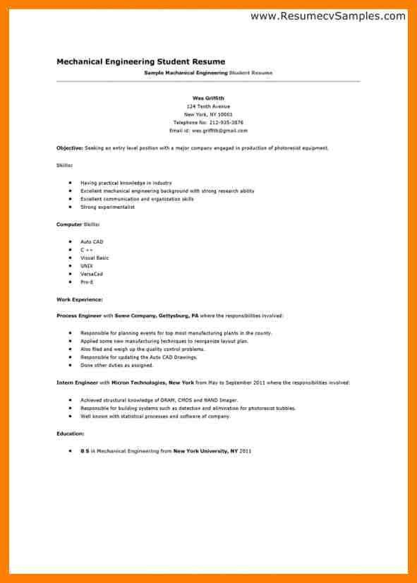 Resume Examples First Job. Resume For First Job Examples | Resume ...