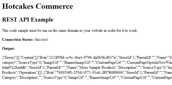 REST API Example Solution – Hotcakes Commerce Support by Upendo ...