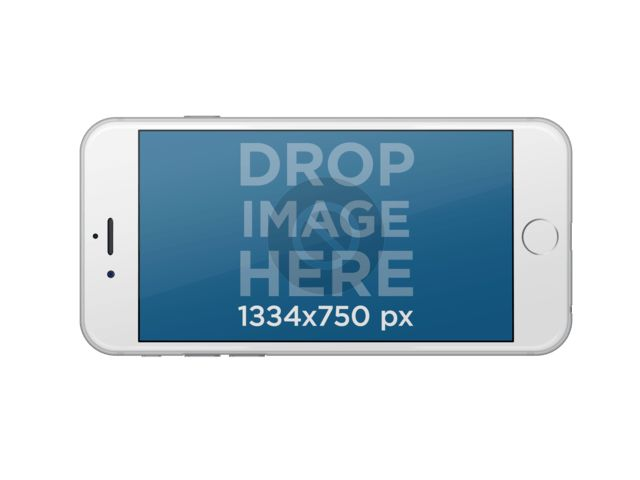 Placeit - iPhone Stock Photo Template With Transparent Background