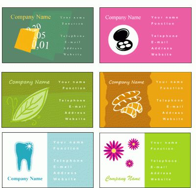 Business card templates Free online