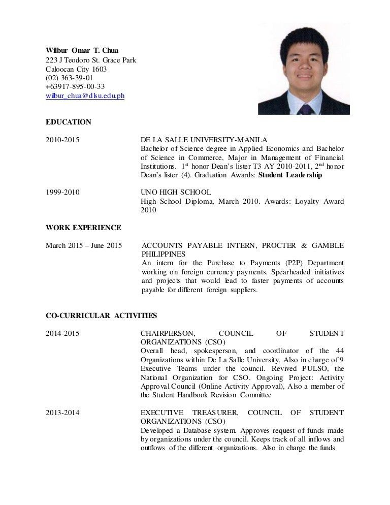 updated resume format how to update a resume exles