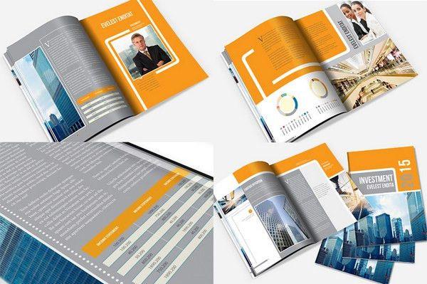 25+ Annual Report Brochure Templates