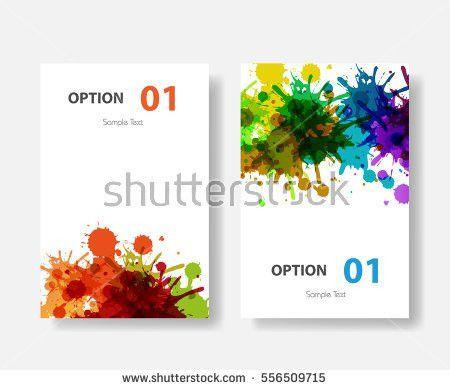Vector Cover Design Templates Easy Editable Stock Vector 221402677 ...