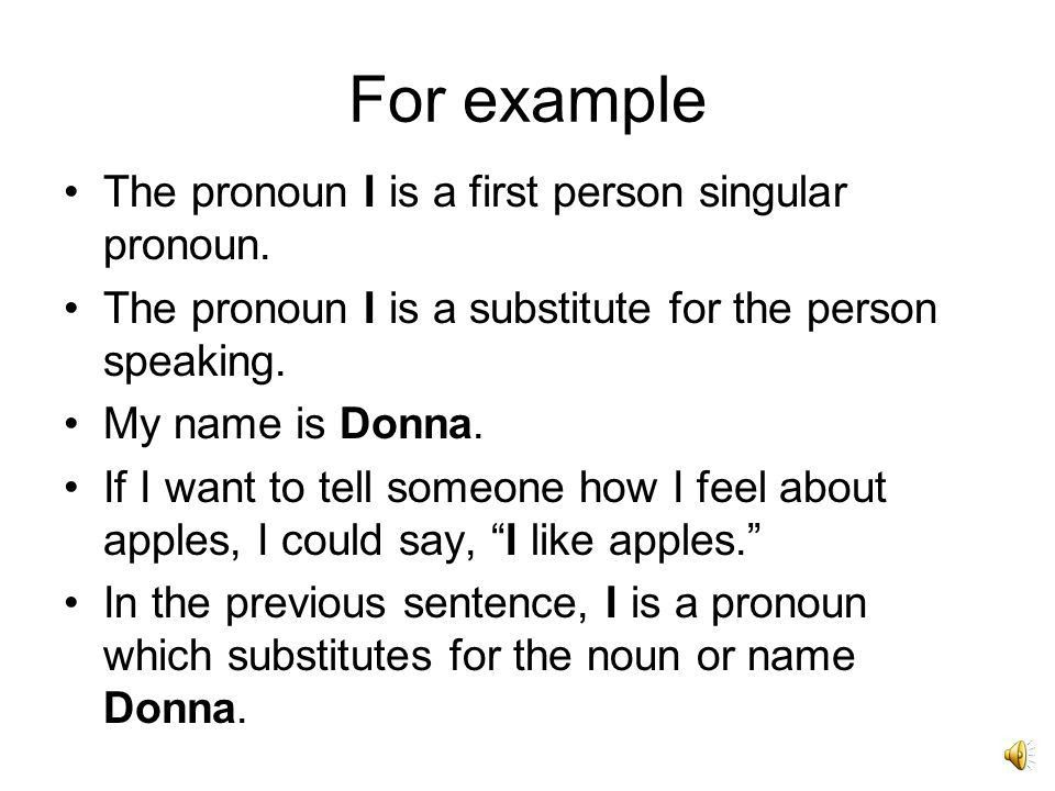 Grammar Subject Pronouns - ppt video online download