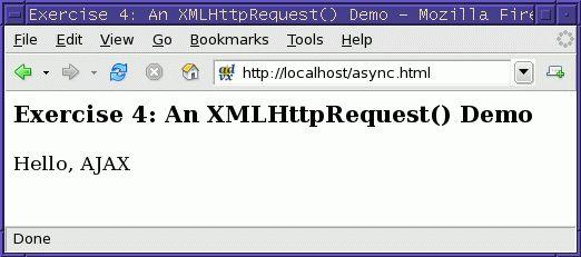 A Short Tutorial on XMLHttpRequest() LG #123