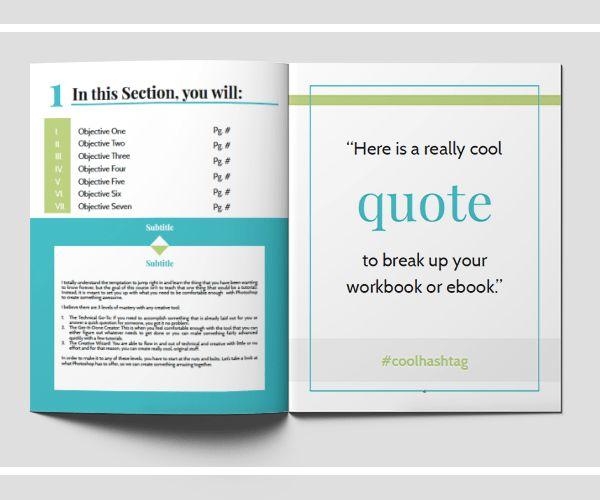 Boxy Workbook Template | BMays Design