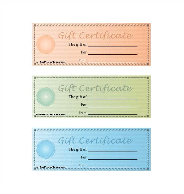 Gift Certificate Word] Custom Gift Certificate Templates For ...