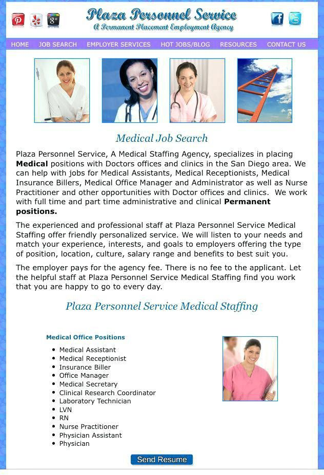 Office Manager Jobs San Diego Medical Office Receptionist Jobs San ...