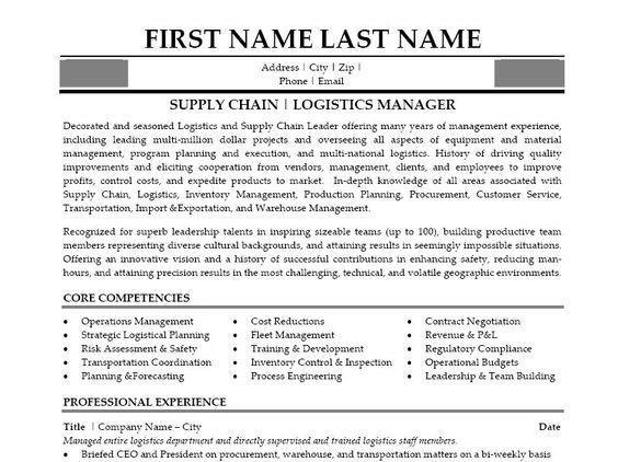 Fleet Manager Resume - cv01.billybullock.us