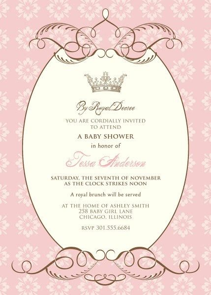 free baby shower templates | By Royal Decree Baby Shower ...