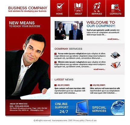 Business Co. Free WordPress Theme #705, best free layouts at ...