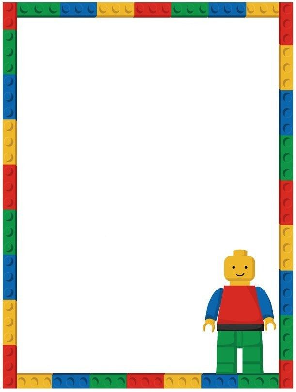 Free Lego Invitation Template | Invitations Online