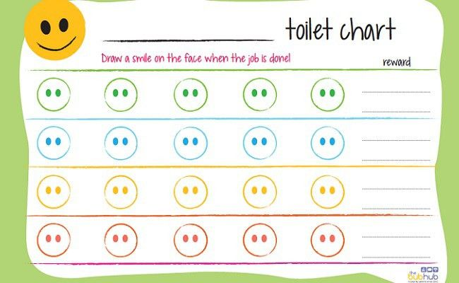 Struggling with toilet training? Print out these reward charts ...