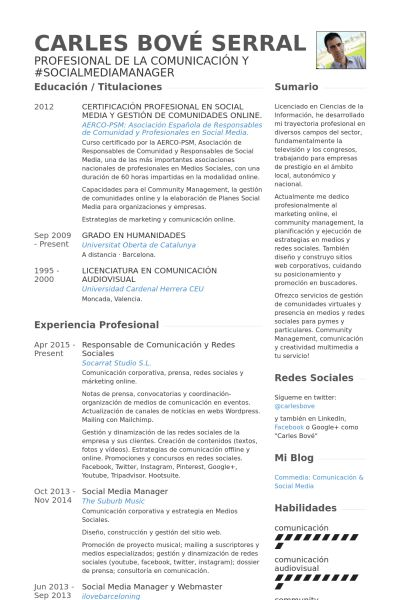 Social Media Manager Resume Sample 3 55before.1_ - uxhandy.com